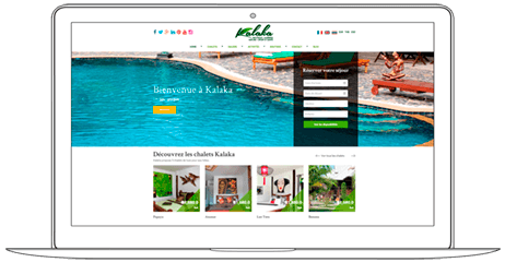 Web Design for Resort Hotel Boutique in Chiang Mai - Web a Way, Web Agency Chiang Mai