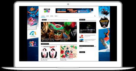 Travel Information Web Design - Web a Way, Marketing Agency Chiang Mai