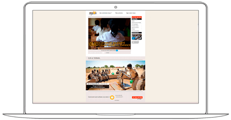 Website for Non-Profit Organization with online donation payment - Web a Way, Web Support