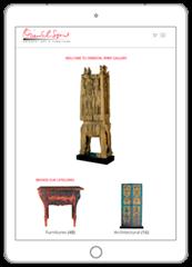 E-commerce Solution for Antiques Shop - Web a Way, Website Design Agency Thailand