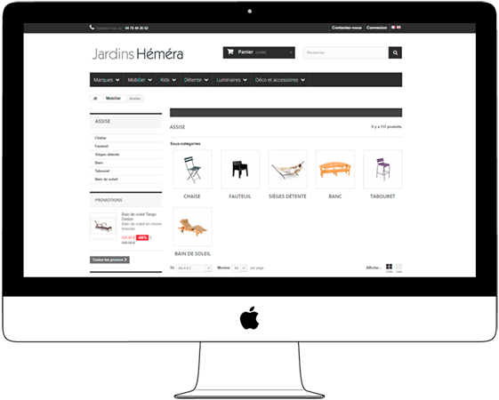 Online Ecommerce Furniture Store - Web a Way, Digital Web Agency Chiang Mai