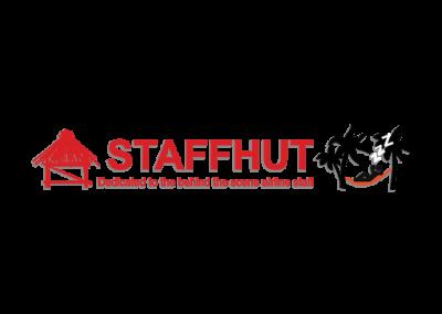 Staffhut