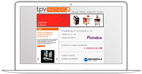 Web Design for POS Company - Web a Way, International Web Agency Chiang Mai Thailand