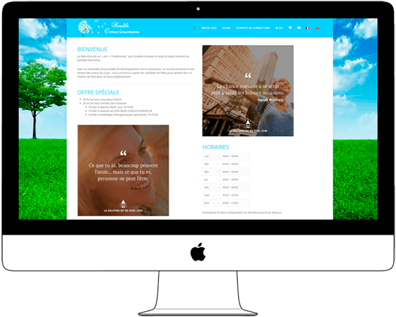 Web Design for Massage and SPA in Chiang Mai - Web a Way, Web Digital Agency Thailand