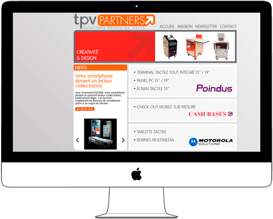Web Design for POS Company - Web a Way, International Web Agency Chiang Mai Thailand