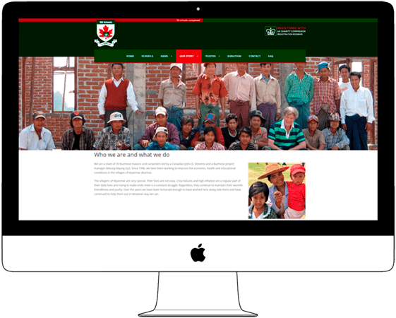 WordPress Website for Non-Profit Charity Organization in Chiang Mai - Web a Way, Web Design Agency